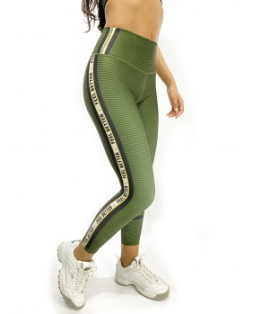 Legging Self Army Green