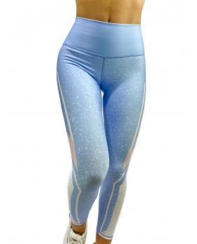 Calça Legging Self Light Blue